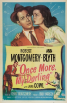 Once More My Darling 1949 DVD - Robert Montgomery / Ann Blyth